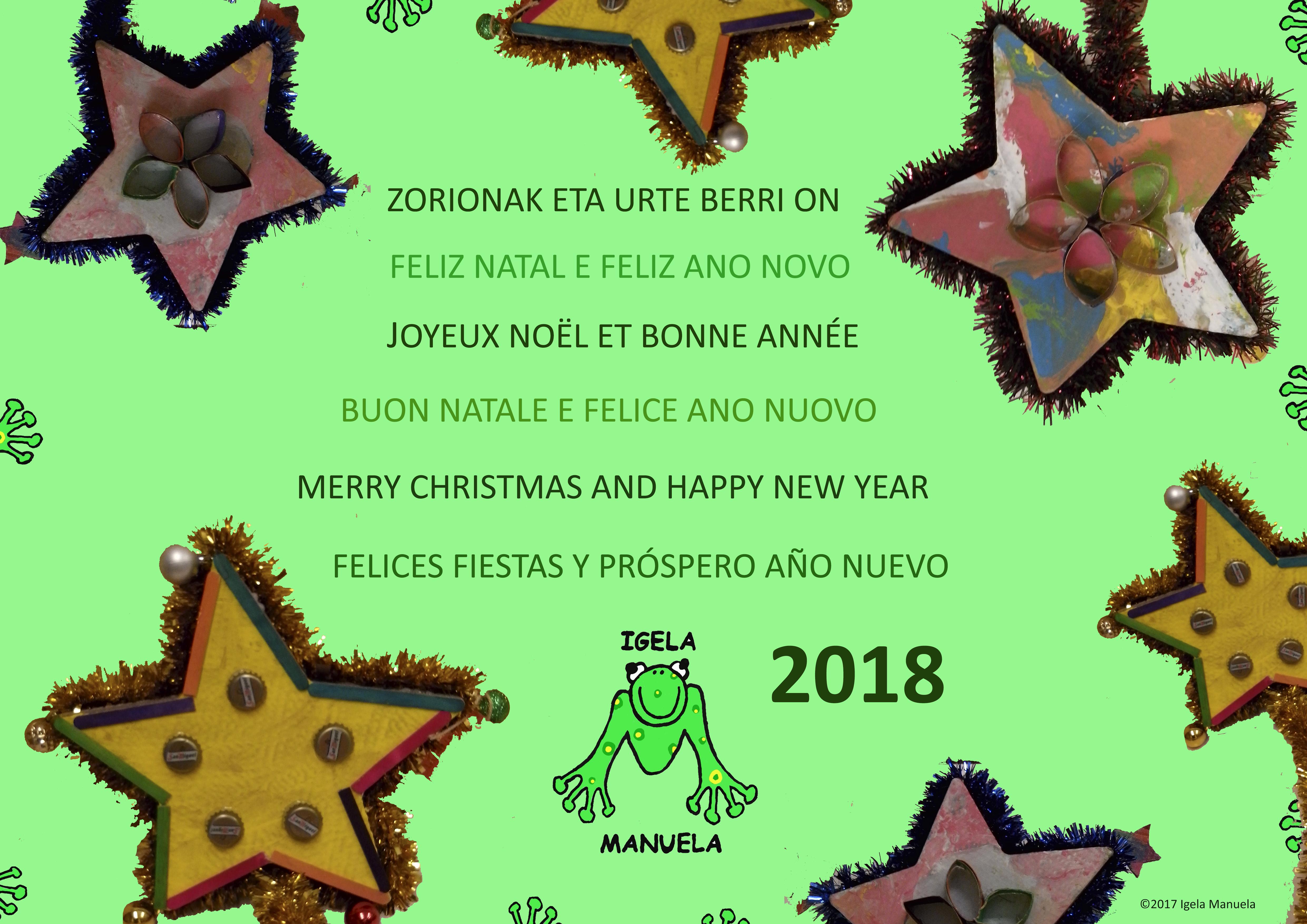 Zorionak 2018-Igela Manuela