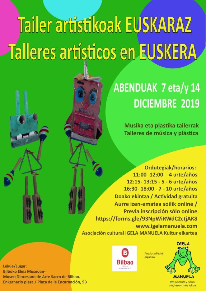 Tailer artistikoak EUSKARAZ 2019